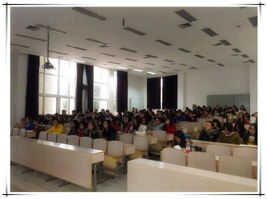 2015年12月苏州文正学院 acca校园讲座图片